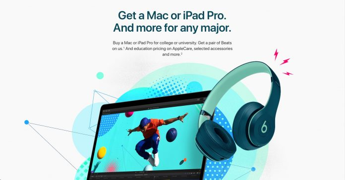Apple's Back to School (Free Beats) 2018 Promotion is back | Techie